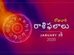 మంగళవారం మీ రాశిఫలాలు 28-01-2020