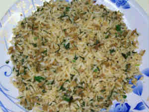 Healthy Soya Methi Rice