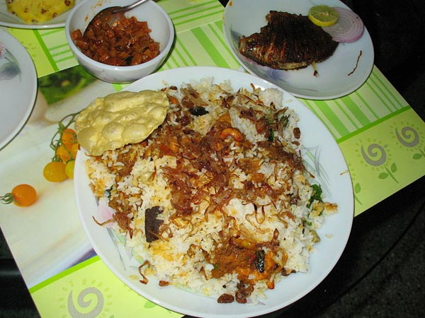 Yammy Hyderabadi Chicken Biryani very spicy and tasty