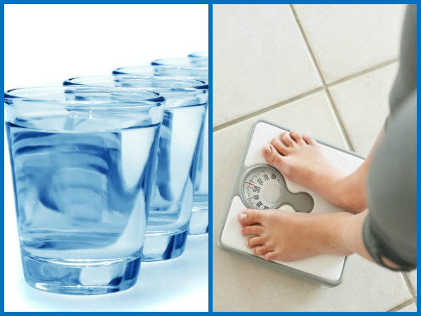 water to weight loss