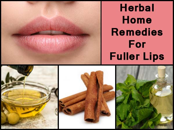 Herbal Home Remedies For Fuller Lips
