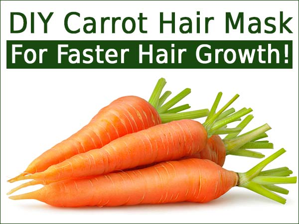 DIY Carrot Hair Mask For Faster Hair Growth!