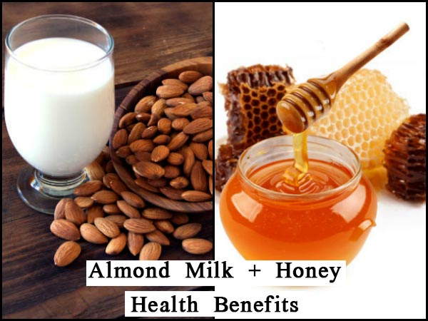 Top 6 Health Benefits If You Drink Almond Milk With Honey