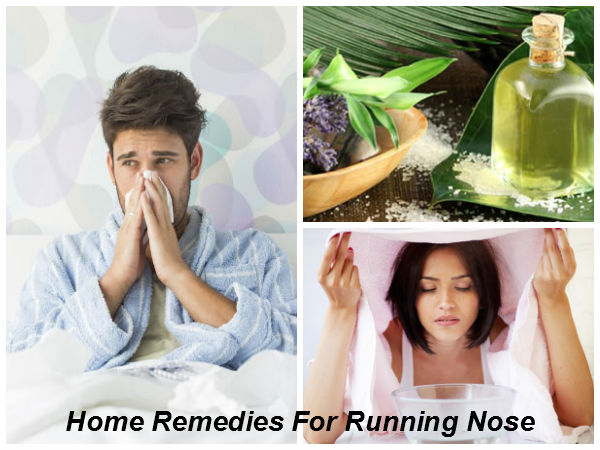 Effective Home Remedies To Treat Running Nose This Winter