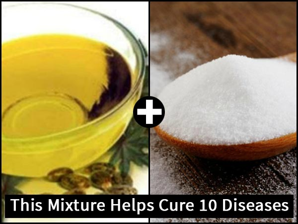 Castor Oil & Baking Soda