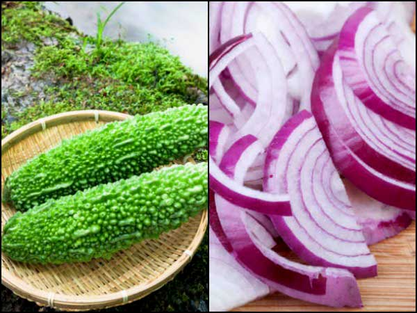 Drink Karela And Onion Juice, Watch What Happens To Your Body!