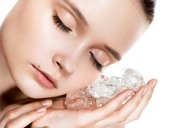 12 Beauty Benefits of using Ice cubes on Face and Skin