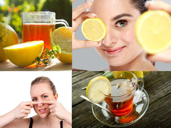 Reasons to Wash Face with Lemon Tea