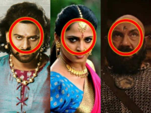What The Different Bindis, Tattoos And Logo Designs Mean In The Movie Baahubali?