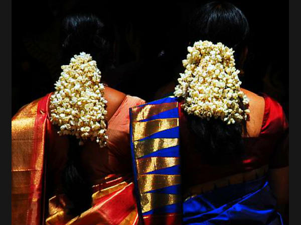 Significance Of Wearing Flowers On Hair