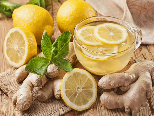 Home Remedy Reduce Belly Fat Using Lemon Ginger
