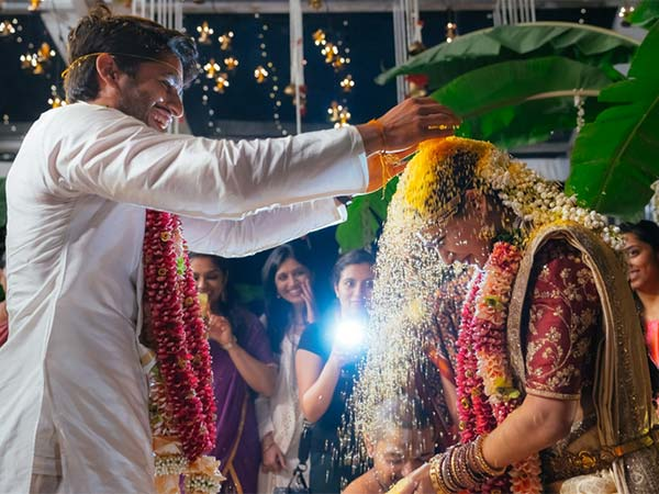ChaiSam Weds Again; Both Look Amazing As Christian Bride & Groom