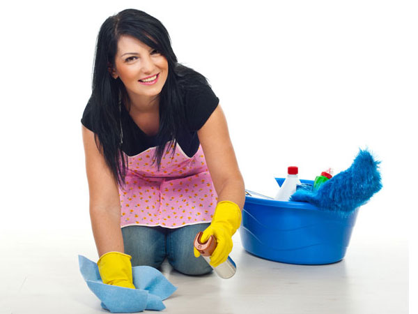 how to use acid to clean tiles and other household items