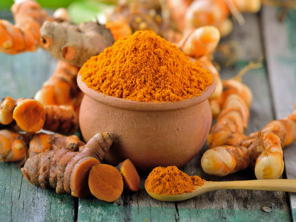 Ginger-Turmeric Mixture For Body