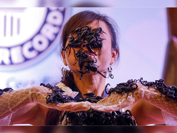 Scorpion Queen breaks new world record