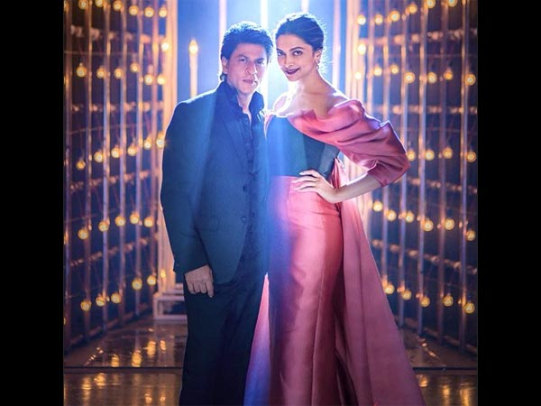 deepika padukone at baatein with the baadshah