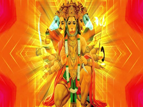 The Story Behind The Five Faces of Lord Hanuman,