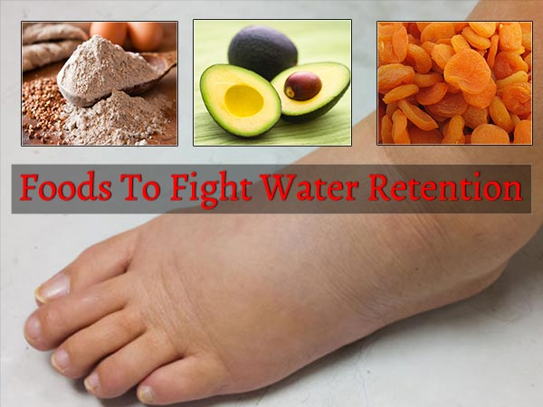 Fruits and Vegetables to Treat Liquid Retention