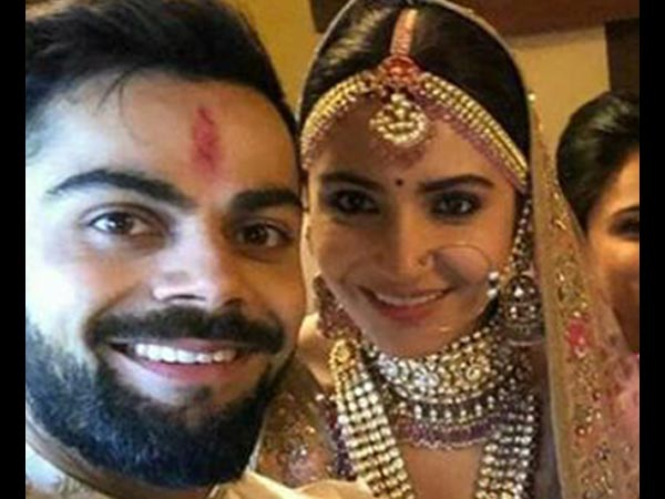 Anushka And Virat Got Hitched With Enthralling Bridal Looks
