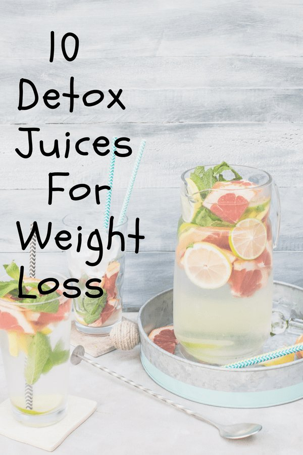 best detox juices for a fast weight loss
