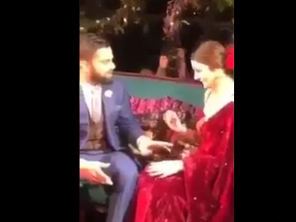 Anushka And Virat's Ring Ceremony Looks From Their LEAKED VIDEO