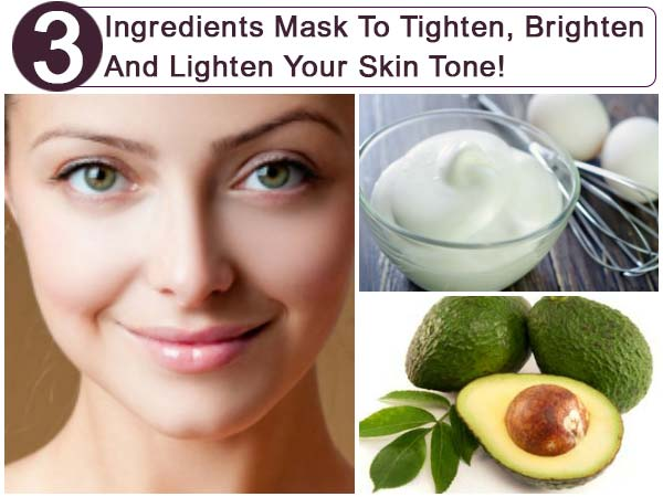 Skin Brightening Mask | Avocado Mask To Tighten Skin | How To Remove Wrinkles Naturally | DIY Skin-Lightening Mask | Honey To Brighten Skin Tone