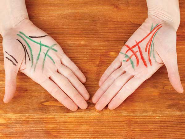These Are The Lucky Signs On Your Palms That Reveal Your Personality.