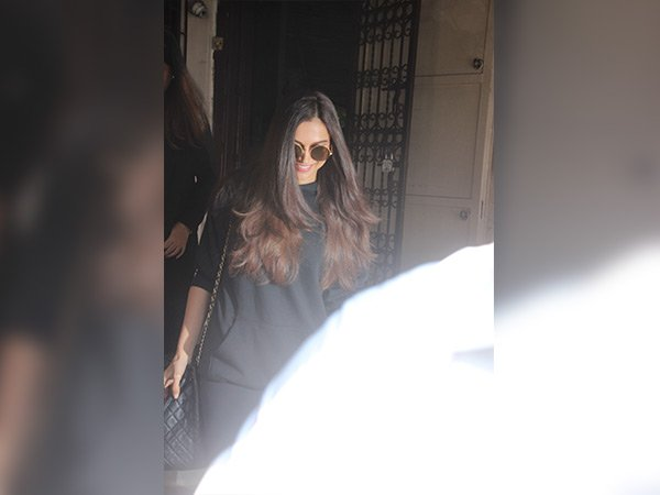 deepika padukone spotted at dubbing studio wearing casuals