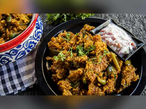 Vangi Bhaat Recipe , How To Make Brinjal Rice , Vangi Bath Recipe,