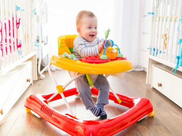 Is it safe to use a baby walker for kids?