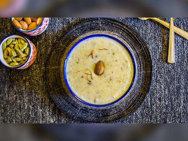 Almond Malai Kheer Recipe | How To Make Almond Milk Kheer