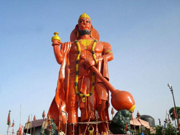 Bond Between Lord Rama And Hanuman,