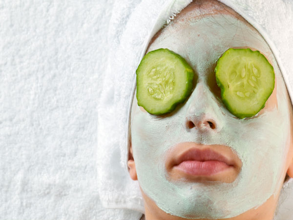 Homemade Cucumber Face Packs For A Glowing Skin You Must Try,