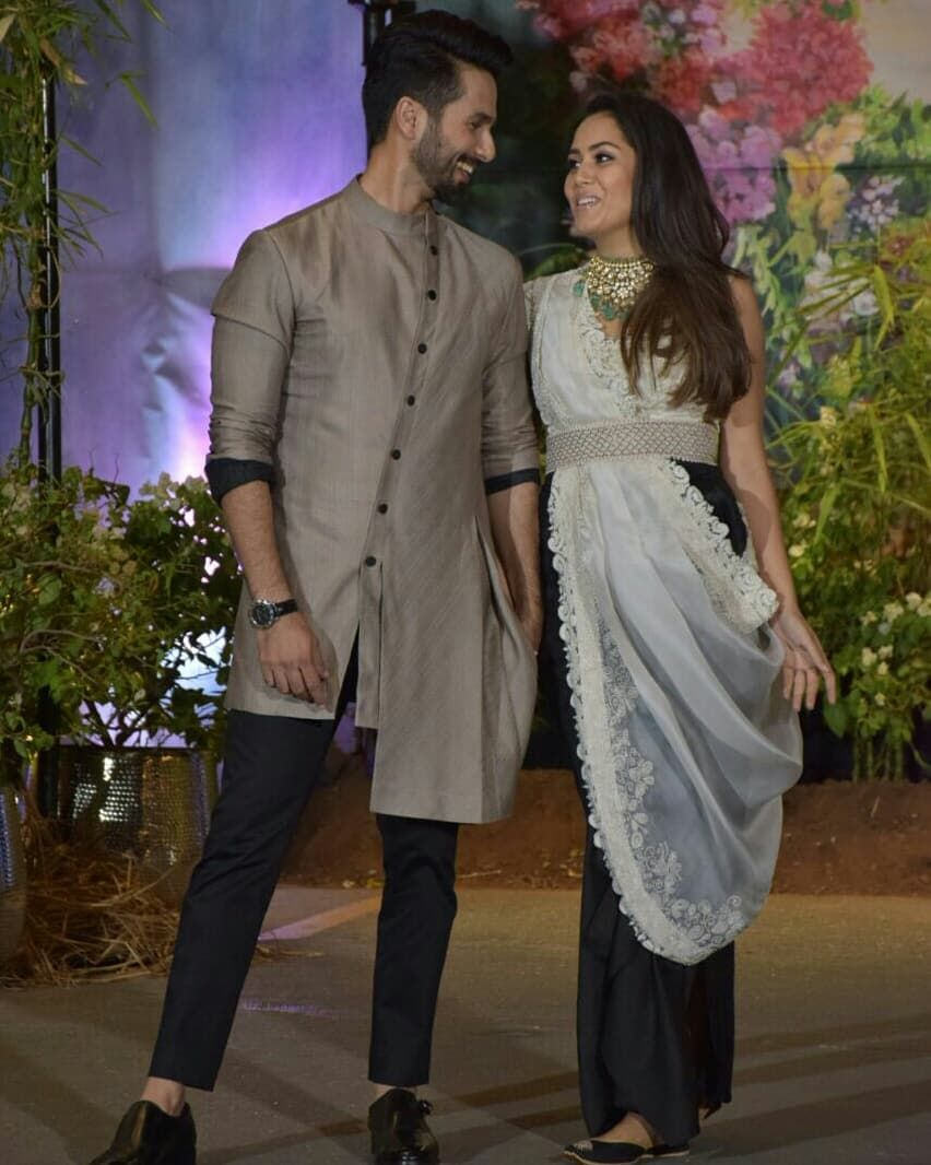 Ex-Lovers Shahid-Kareena Stun With Their Respective Partners