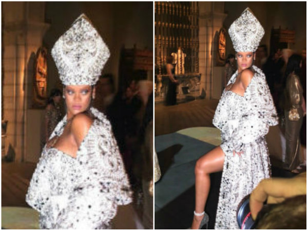 Omg! Did Rihanna Too Disappoint At Met Gala 2018?