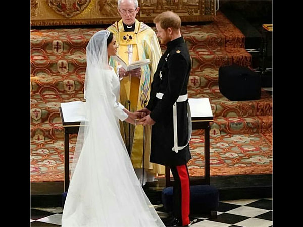 Wow! You Must See How Divine Meghan Markle Looks In Her Wedding Gown,Meghan Markle didn't wear Ralph & Russo or Alexander McQueen. So, what did she wear?