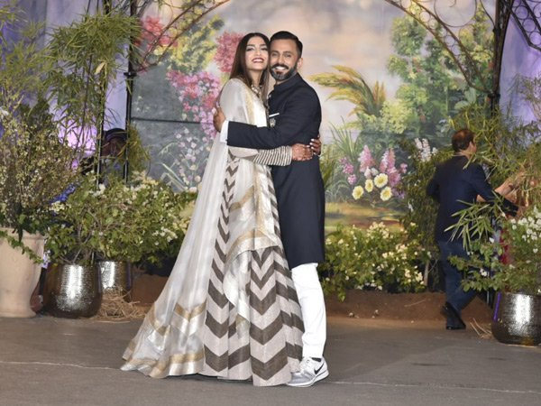 Sonam And Anand Are Giving Us The Coolest Reception Wear Goals
