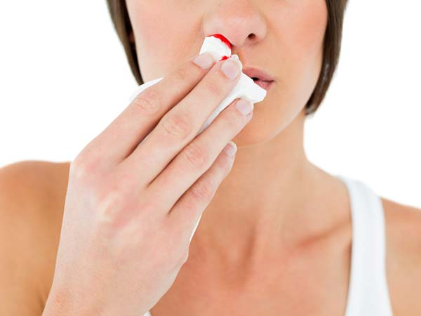 how remedies to stop nose bleeding