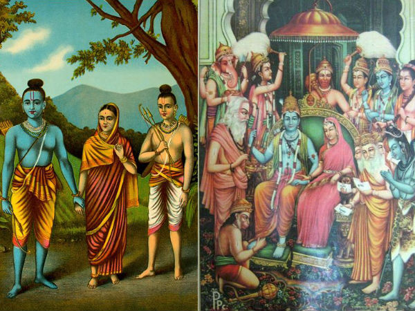 facts about rama and sita