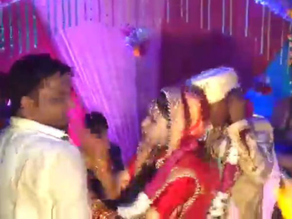 Bride Stopped The Wedding To Slap A Man Who Picked Her Up Without Her Consent