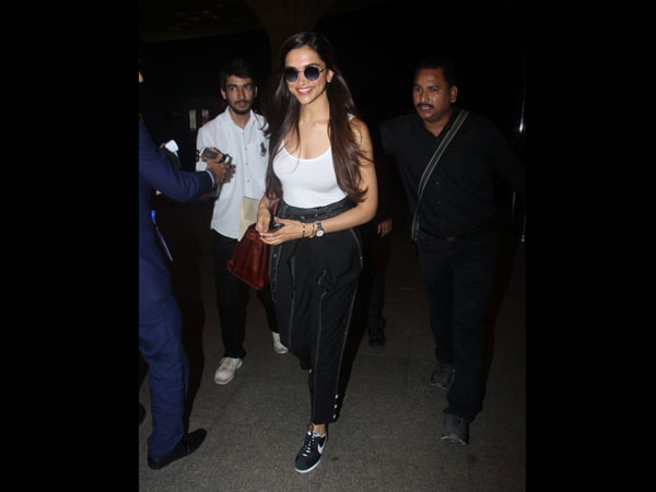 Deepika Padukones Latest Airport Look Will Knock Your Socks Off