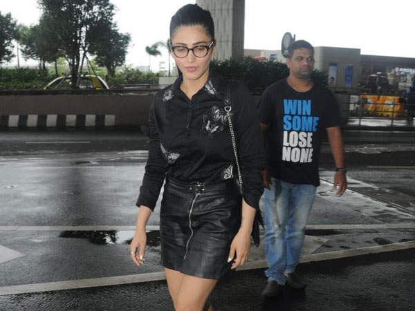 Shruti Haasan Wore An All-Black Outfit And So Should You