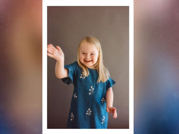 She Is A 7-Year-Old Model With Down Syndrome Takes To The Catwalk