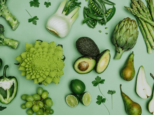 Health Benefits Of Green Fruits And Vegetables