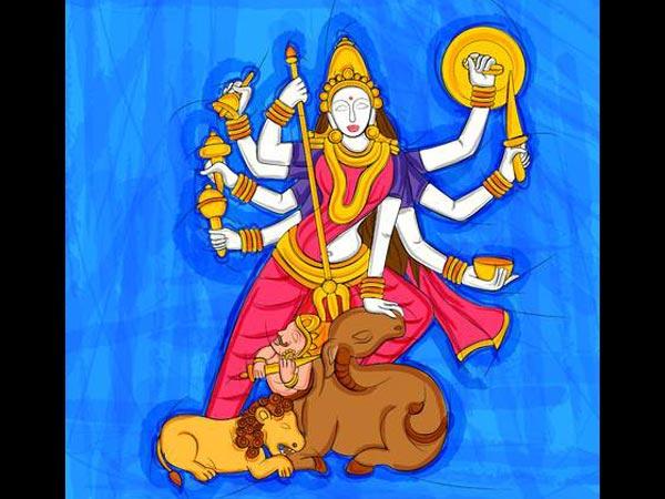 దుర్గాదేవి మహిషాసురుని సంహరించడానికి గల కారణాలు  మరియు సంహరించిన విధానము