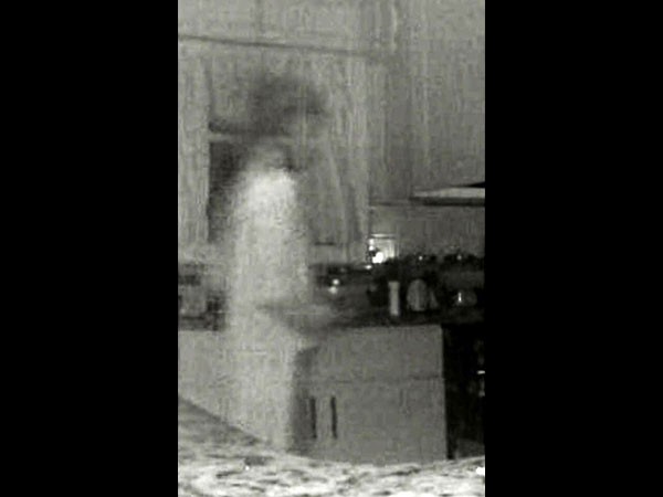 mum spots her dead sons ghost on a kitchen cctv