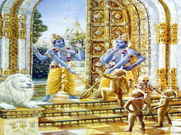 మూడు జన్మల్లో విష్ణుమూర్తికి బద్ద శత్రువులుగా పుట్టిన వారు ఆయన కాపలావారే, జయవిజయల కథ