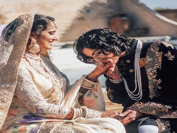 Indo-Pakistani Same-Sex Couple, Ties Knot In A Fairy Tale Wedding