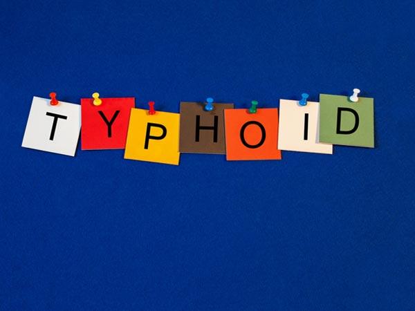 2) టైఫాయిడ్..