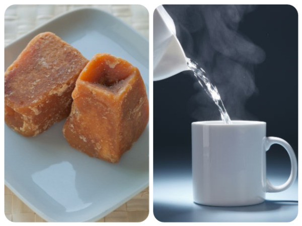 Benefits Of Having Jaggery And Hot Water Together In An Empty Stomach